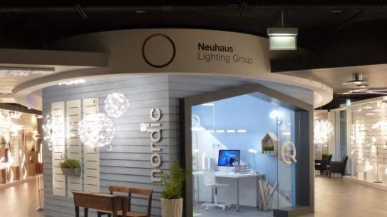 Neuhaus Lighting Group Showroom Utsch Design Gmbh